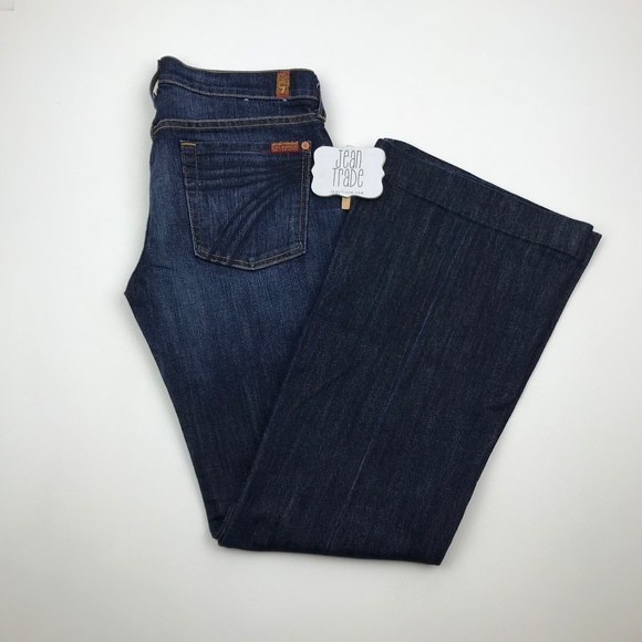 7 for all Mankind Denim - 7 for all mankind dojo flare jean 27x31